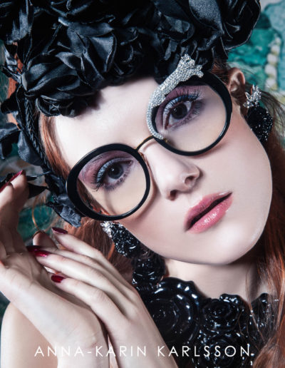ANNA-KARIN KARLSSON - Rose et la Roue 'Black'