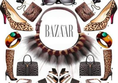 Harper's Bazaar goes Leopard!